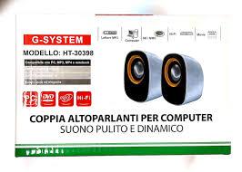 COPPIA ALTOPARLANTI PER COMPUTER